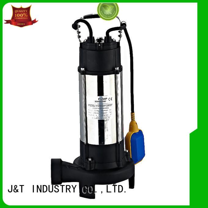 JT Brand lift sewage effluent pump