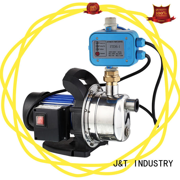 JT steel water jet pump in house for draw water