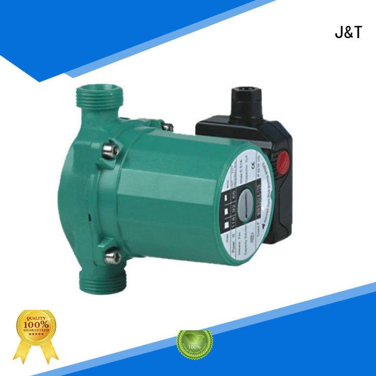 JT aluminum hot water circulating pump long-distance water transfer for garden