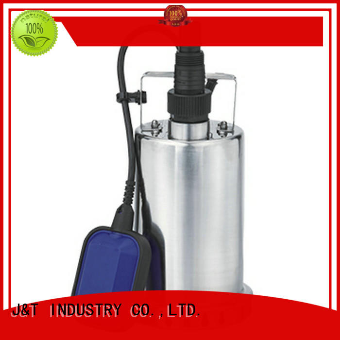 JT shower small submersible water pump in house for washing