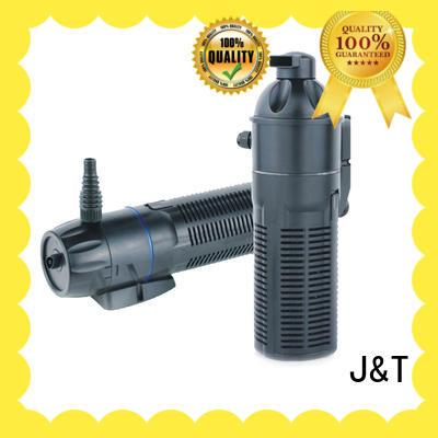 filtration pump performance for aquarium JT