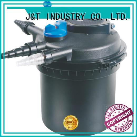 JT automatic fish pond pump filter system hot sale for aquarium