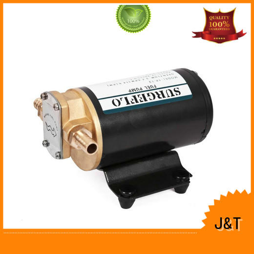 stainless steel electric diaphragm water pump energy saving for petrol station JT