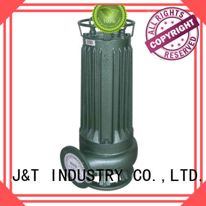 JT automatic sewage motor pump convenient operation for family