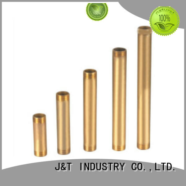 JT electronic brass 90 degree elbow with pressure for pond