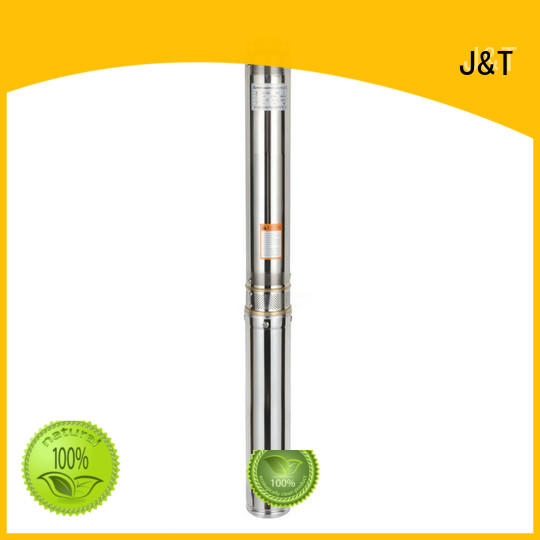 JT submersible borehole water pump convenient operation for underground for water level