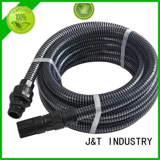 JT brass stainless steel flexible hose factory for garden