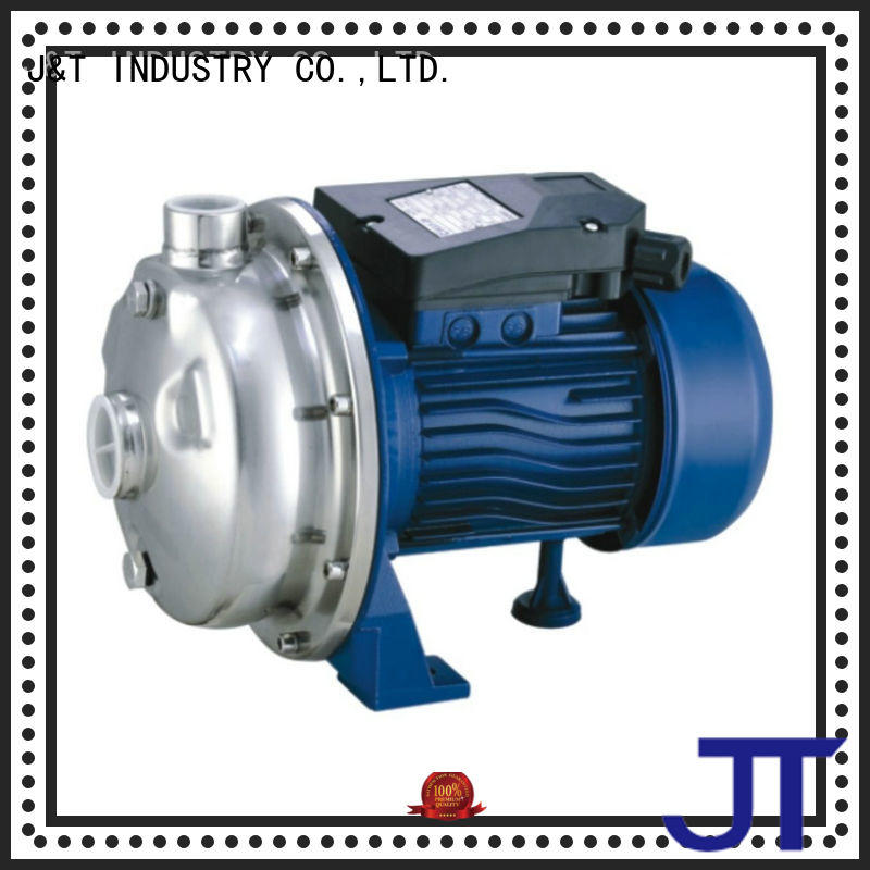 JT stainless water pump service garden irrigation for industry