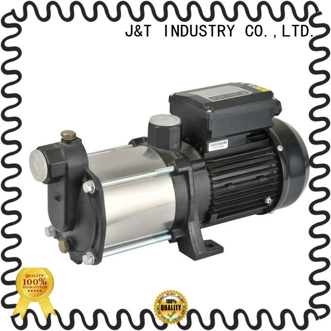 JT electronic horizontal multistage pumps manufacture for underground water level