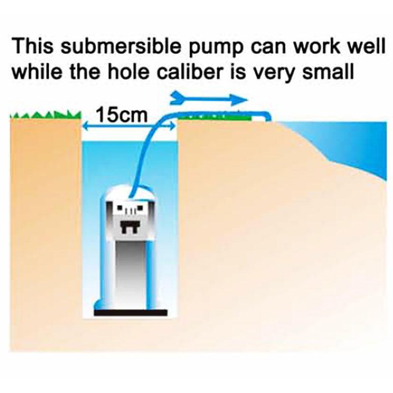 Garden submersible intellect pump JDP-400QD-2