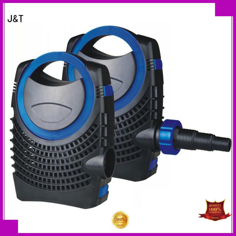 JT professional outdoor fountain pump easy use for building