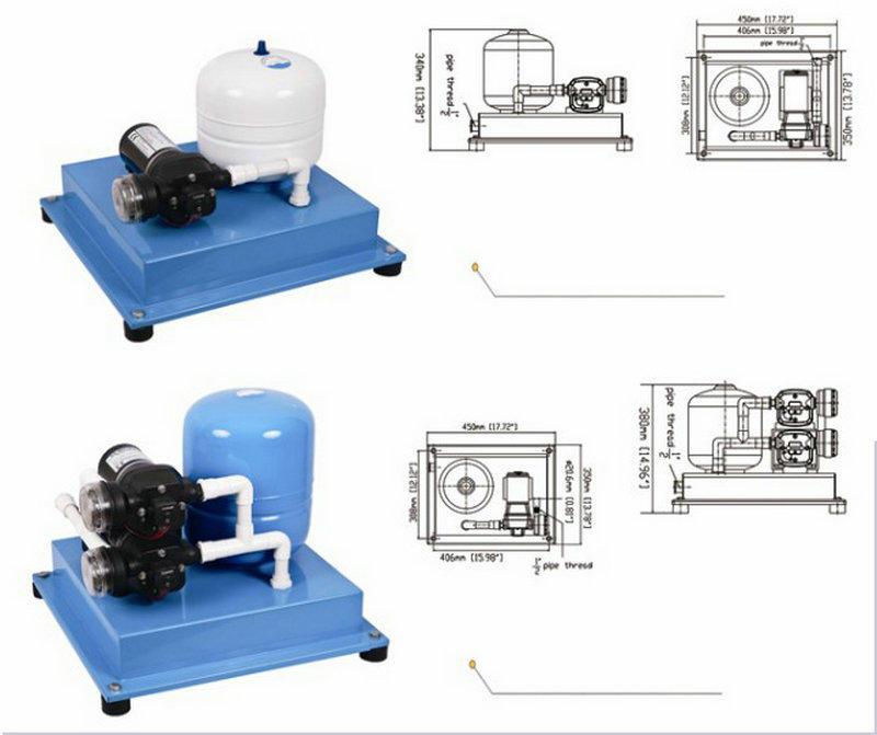 JT accumulator 12v water heater pump factory for aquarium-2
