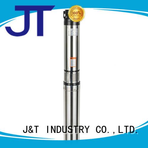 JT Brass borewell submersible water pump convenient operation for garden