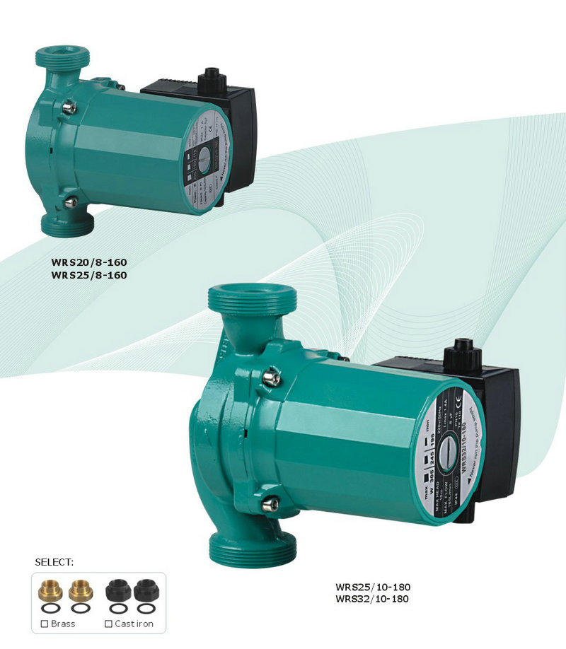 wrs20130 water heater recirculating pump wrs2013 for garden JT-2