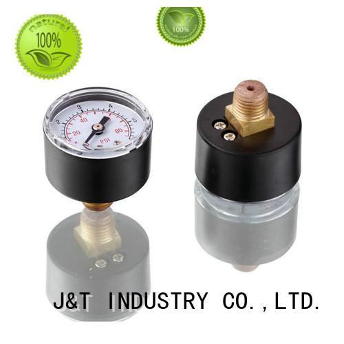 JT Economical water pump pressure gauge Copper alloy for water
