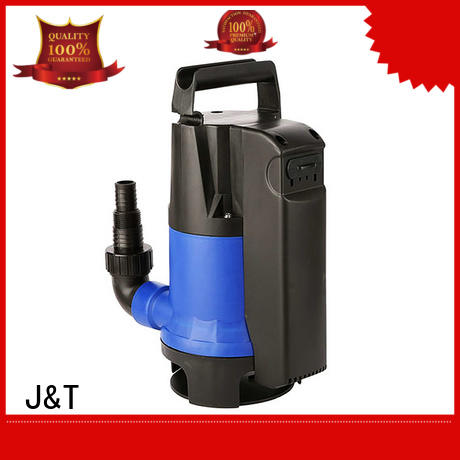 JT stainless steel small submersible water pump in house for washing
