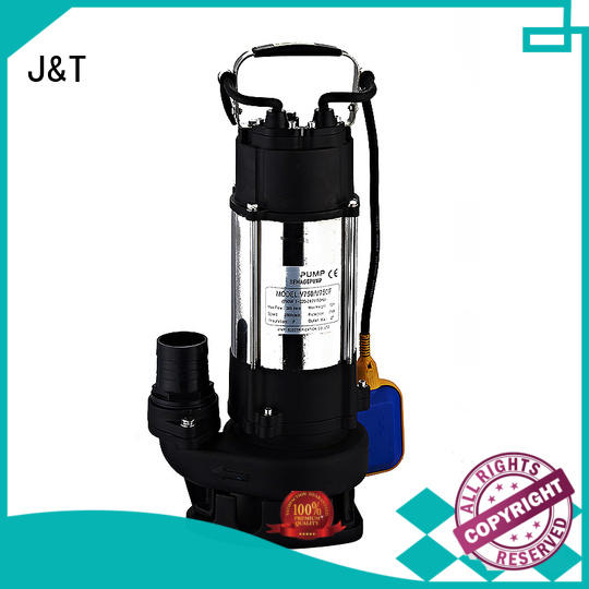 JT stainless steel sewage motor pump convenient operation for ship