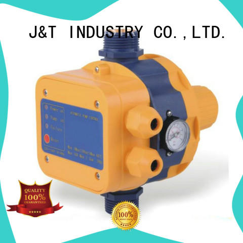 JT automatic automatic water pump pressure controller gauge for pond