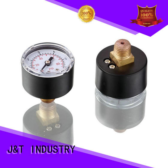 JT durable well pump pressure gauge for water
