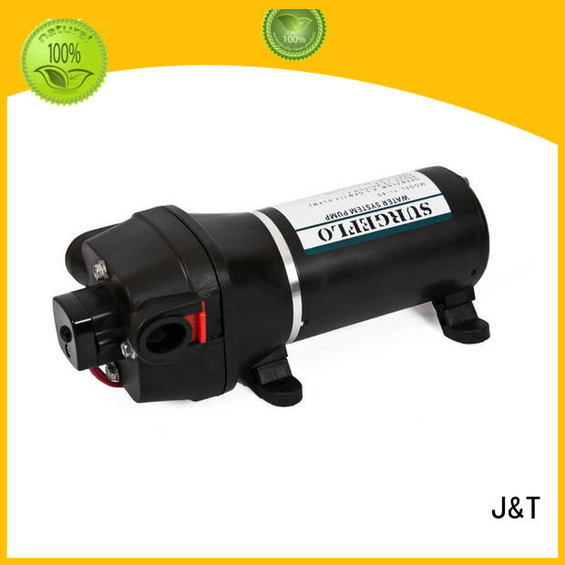 macerator high pressure diaphragm water pump advanced computer technology for deep well JT