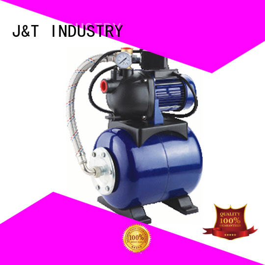 JT iron 1 hp shallow well pump with tank for home for water supply