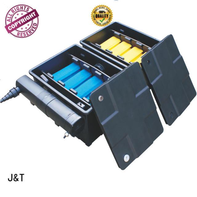 JT professional garden pond filtration for garden